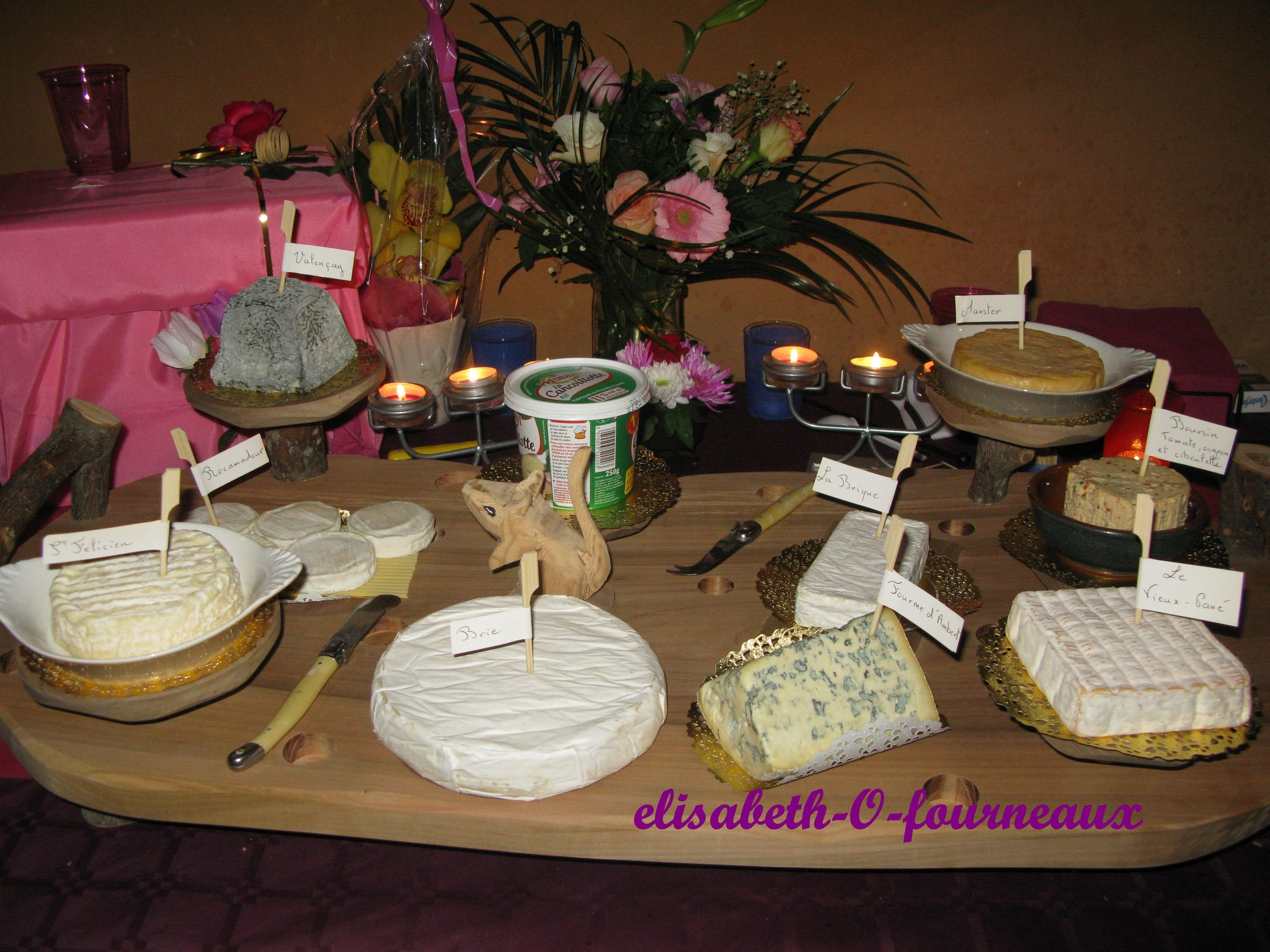 plateau fromages d Olivier