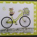 Prête pour une promenade en vélo ?