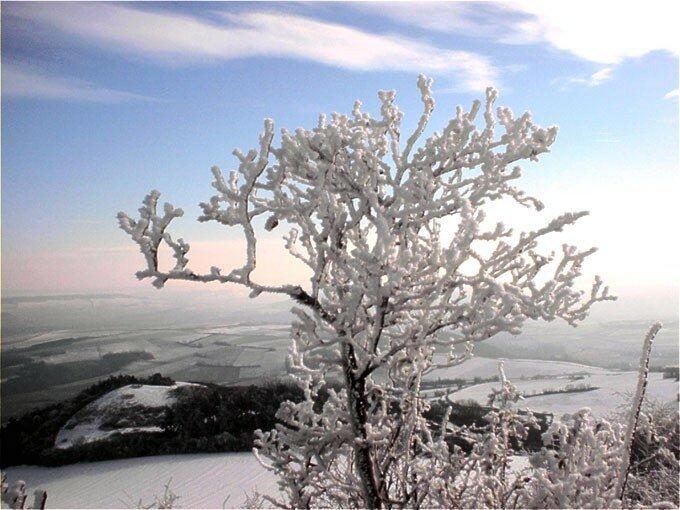 neige au puy de Saint-Sandoux