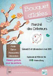 Affiche_Bouquet d'idées 5 _6 mai 2012 Issy les Moulineaux