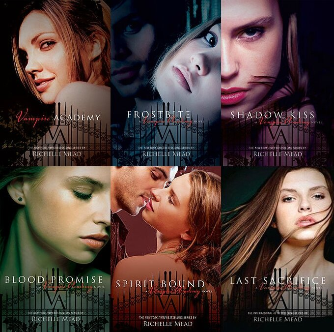 The_covers_of_the_six_Vampire_Academy_books