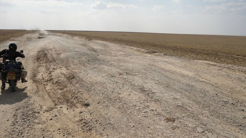 route steppe