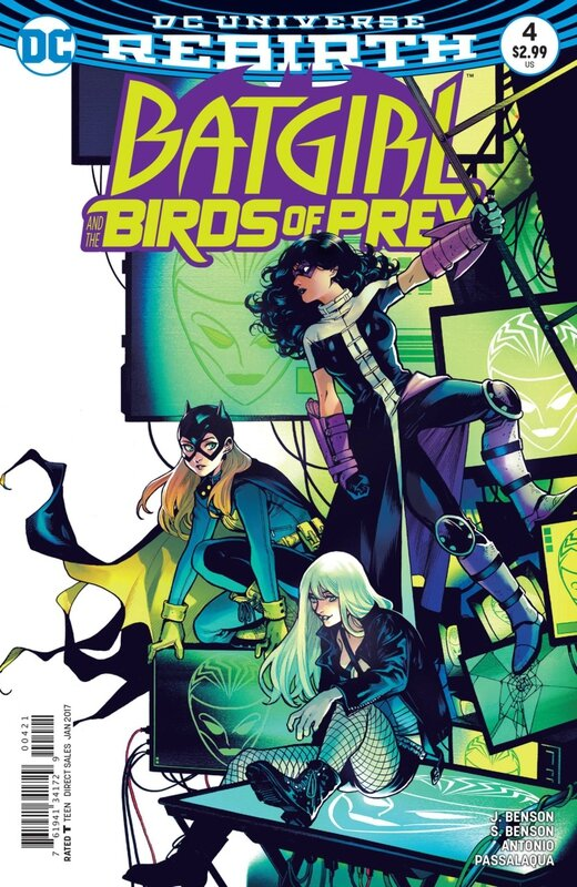 rebirth batgirl and the birds of prey 04 variant
