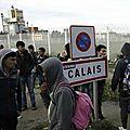 Une rixe éclate entre une soixantaine de migrants à calais