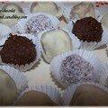Rochers au chocolat...encore et toujours !