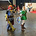 Link et Ganondorf