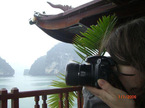 Photographe à l'affût