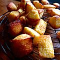 °financiers au citron///sans gluten°