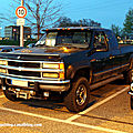 Le chevrolet silverado 2500 pick up (rencard burger king avril 2011)
