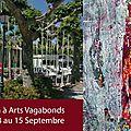 Arts vagabonds : peinture et installation le 13 septembre