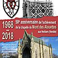 50e anniversaire de l'achèvement de la chapelle des alouettes