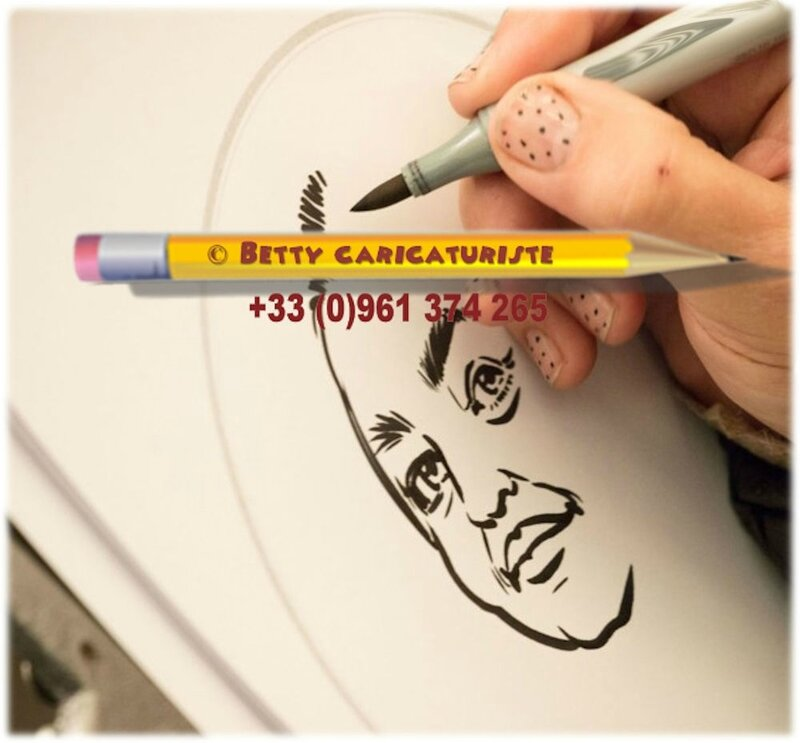 dessin caricature caricaturiste encre chine