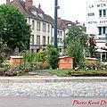 Rond-point à châtillon-sur-seine