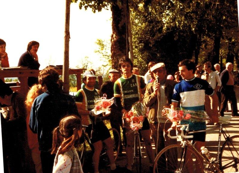 1983 SP Lizonne Cluzeau 1°, Bocquier 2°, Perrier (Tulle) 3°