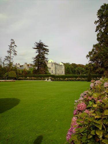 Powerscourt House, way back