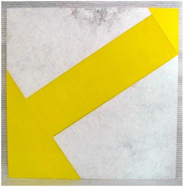 Plexi Abstractions Blanche et Jaune primaire