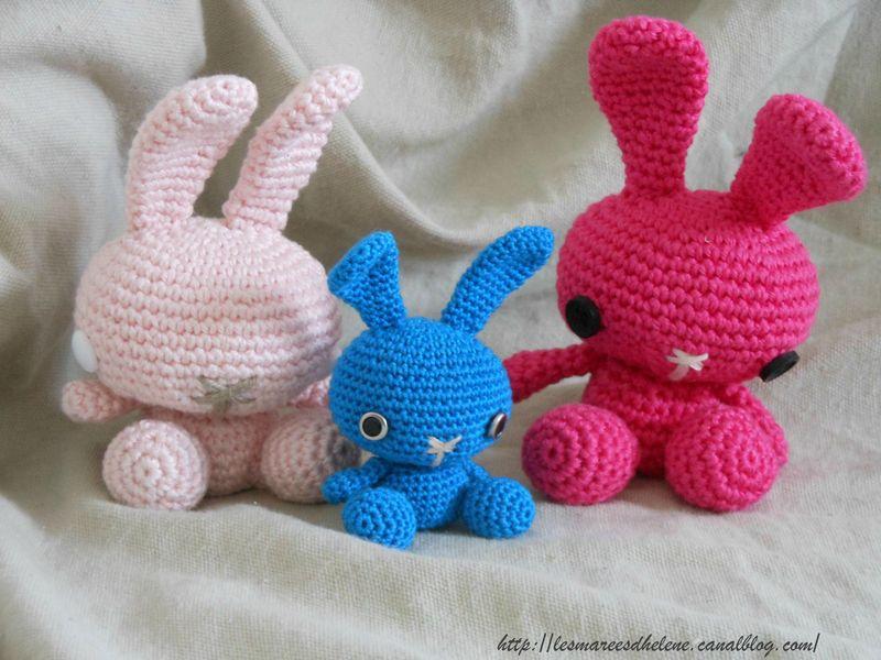 Queue de coton le lapin - Patron de crochet Amigurumi | 600x800