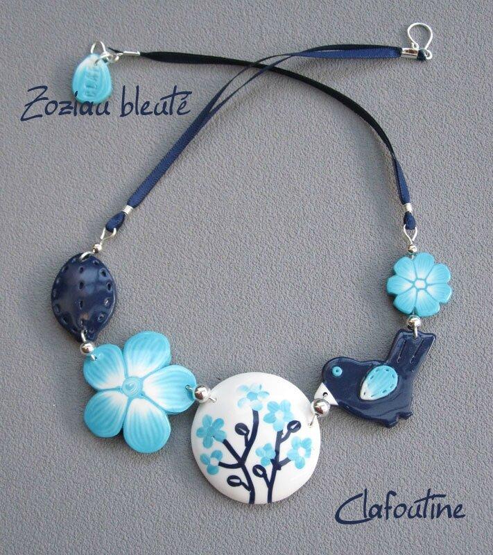 Zoziau bleuté
