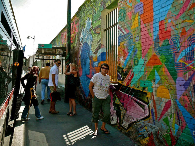 Paris mur mur.