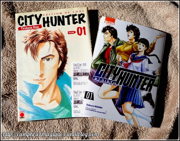 city hunter livres
