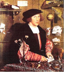 Hans Holbein le Jeune, Portrait de Georg Gisze