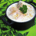 Saumon à la crème de soja