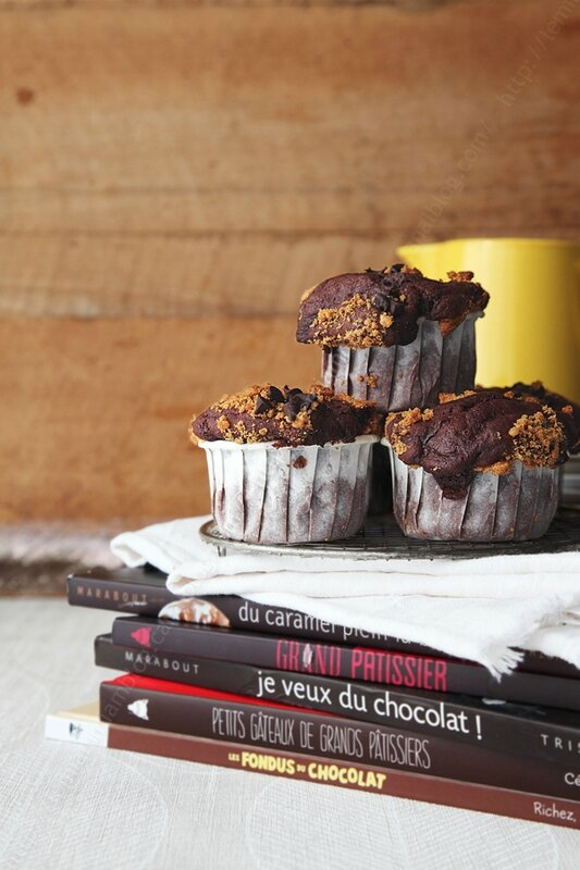 muffin double chocolat 00001 LE MIAM MIAM BLOG