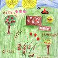 La saison des fruits rouges vu par Mélina