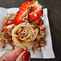Brochettes de mssemen aux fraises