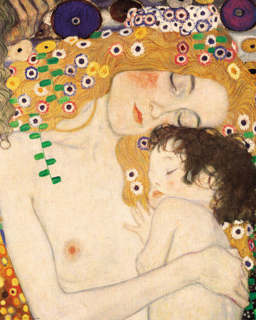 gustav_klimt_mother_and_child_detail_from_the_three_ages_of_woman_c_1905