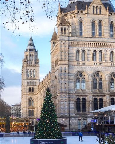 Natural History Museum Ice Rink ©Kid Friendly