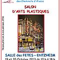 Exposition association artistique des cheminots d'alsace
