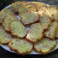 Cake au jambon,chèvre et curry