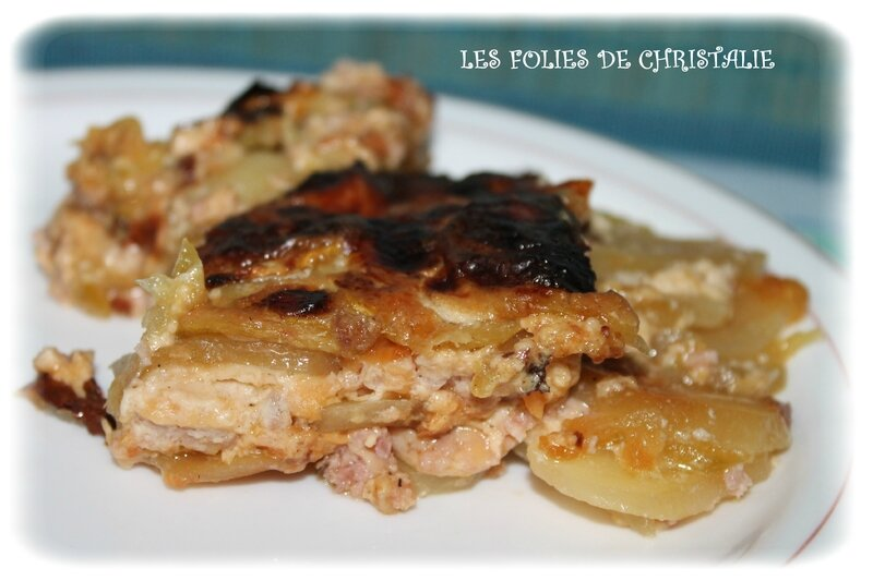 Gratin courgettes 7