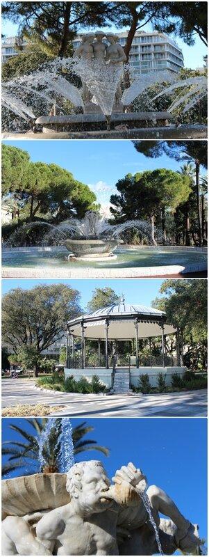 Mosaîque Fontaines kiosque