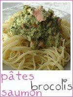 spaghettis saumon - brocolis - index