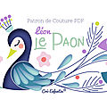 Léon, le paon - patron de couture pdf