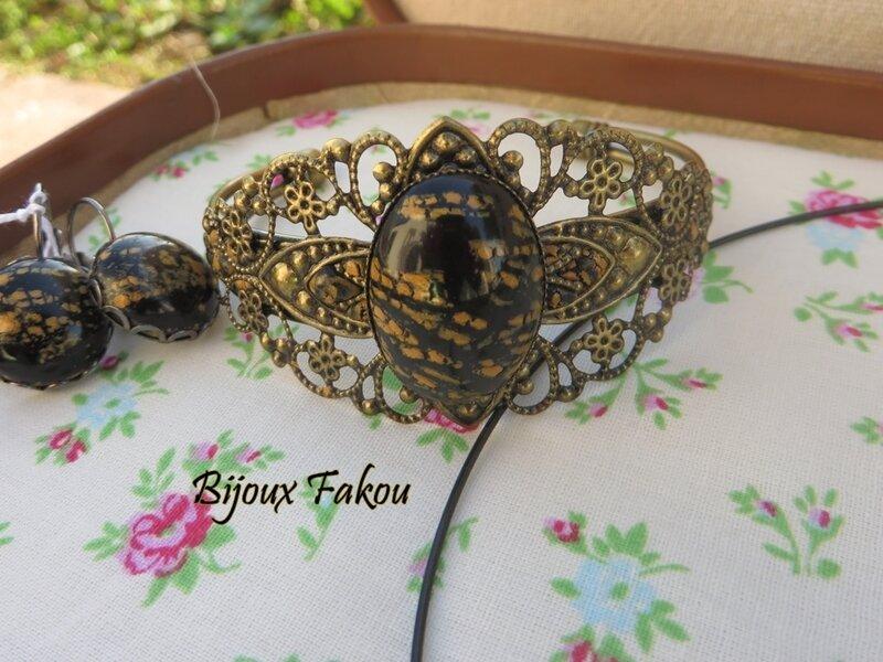 collection craquelé bracelet