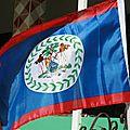 Le drapeau du Bélize