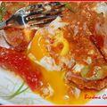 Huevos a la flamenca - œufs à la flamenca
