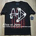 Abbey Dawn MenT Shirt Red Flag