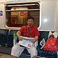Londres , métro