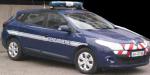 Véhicule gendarmerie