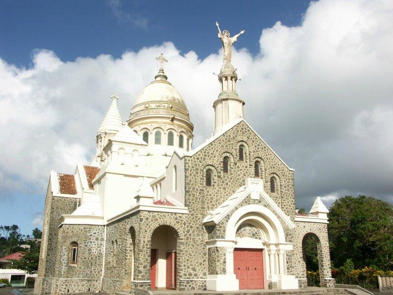 église Balata Fort de France