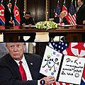 Trump Kim bisous