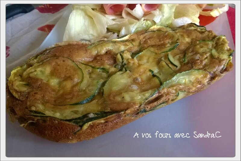 Invisible aux courgettes au micro-onde 2