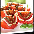 P'tite tomate mozzarella version graphique
