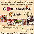 Concours de pâtisserie gourmandise camp