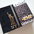 Album new york avec la collection