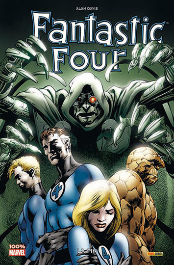 100% marvel fantastic four 03 la fin réed